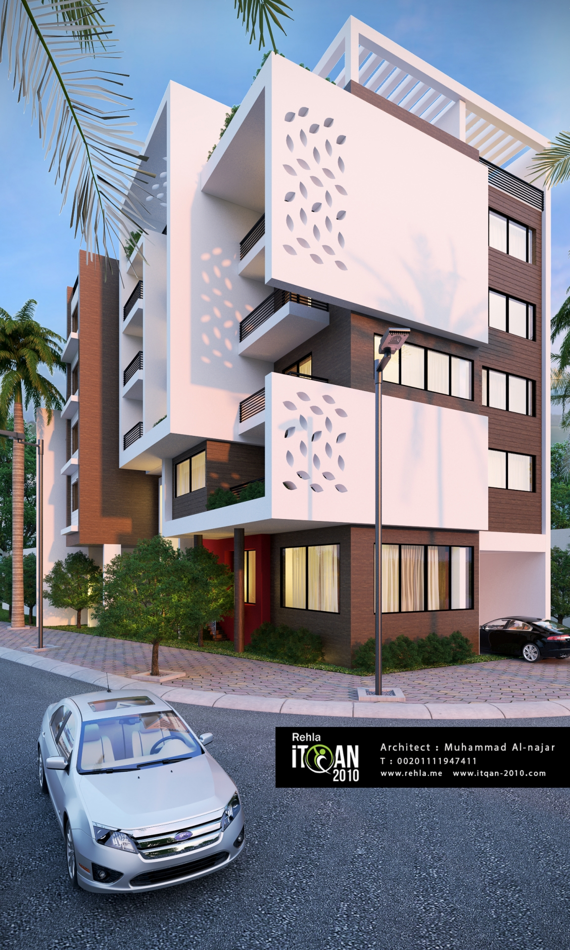 Modern residential building | ITQAN-2010